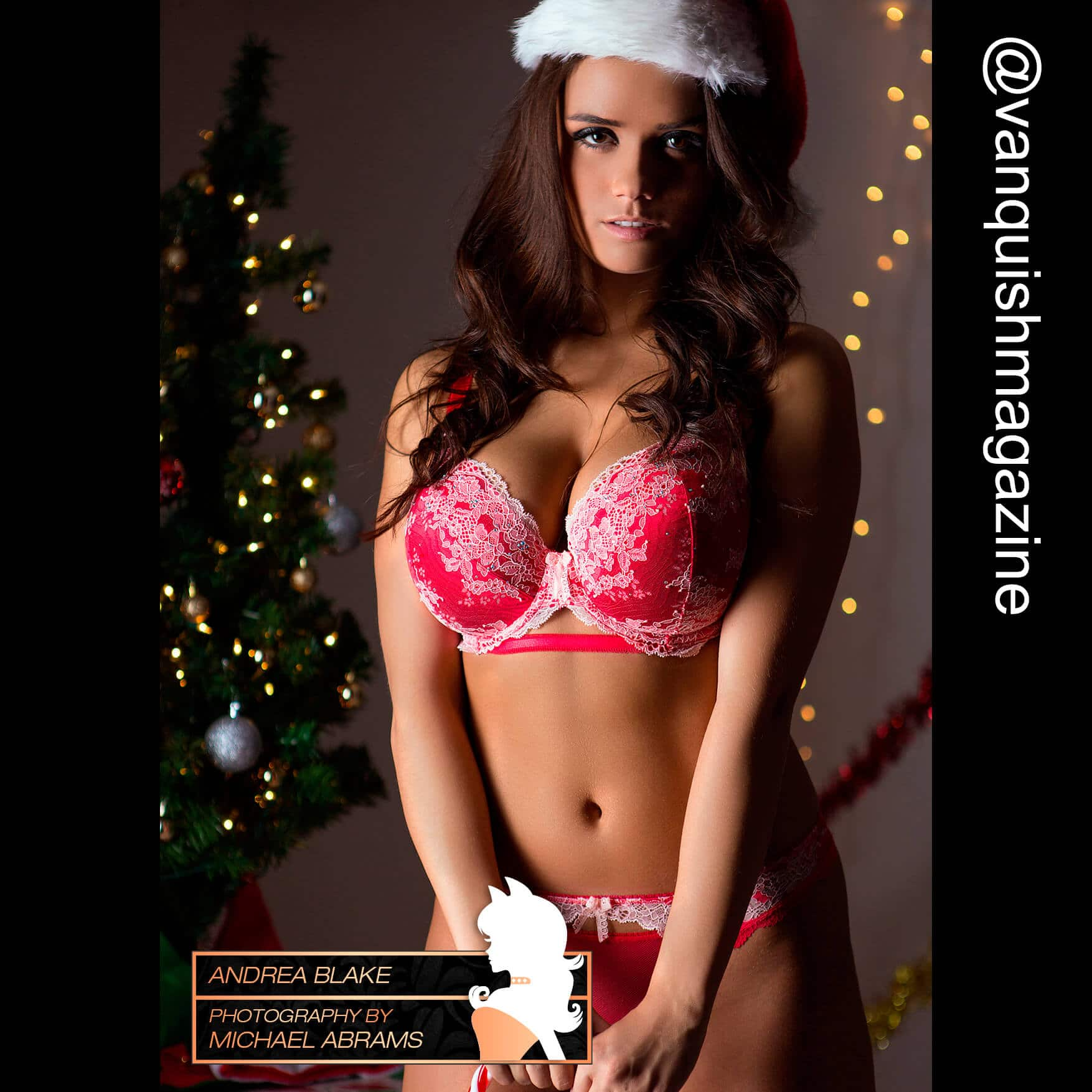 Vanquish Magazine | Christmas 2015 – Andrea Blake: www.vanquishmagazine.com/gallery/christmas-2015-andrea-blake