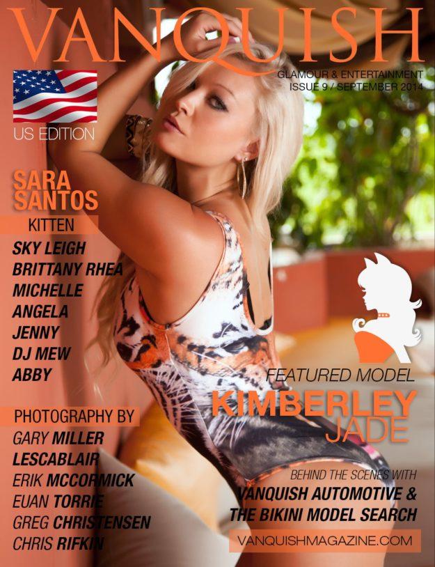 Vanquish Magazine – September 2014 – Kimberley Jade
