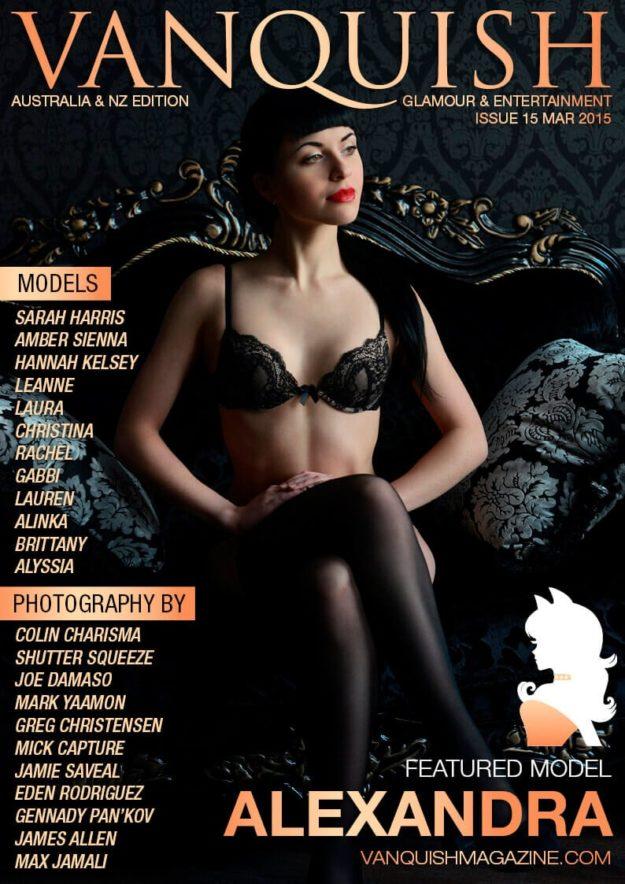Vanquish Magazine ANZ – March 2015 – Alexandra