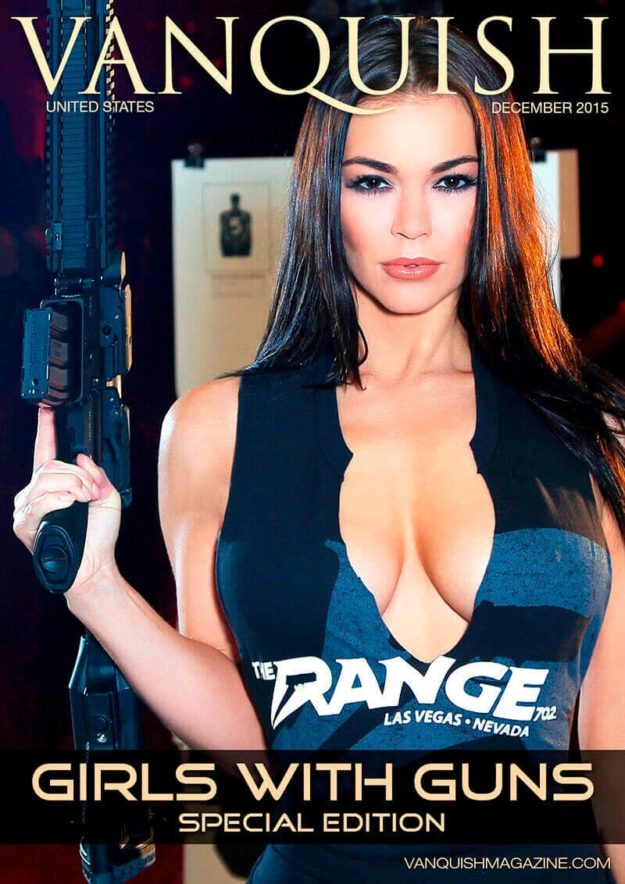 Vanquish Magazine – Girls with Guns – Sierra Rene