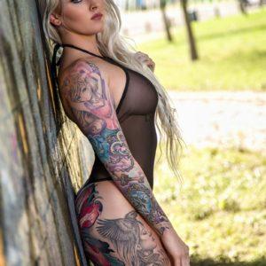 Vanquish Tattoo Magazine – December 2017 – Robin Banks