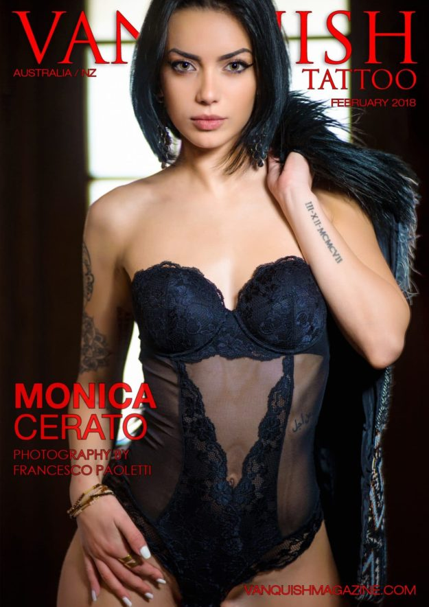 Vanquish Tattoo Magazine – February 2018 – Monica Cerato