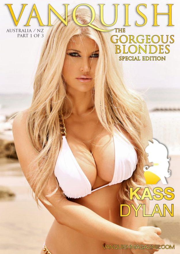 Vanquish Magazine – Gorgeous Blondes – Kass Dylan
