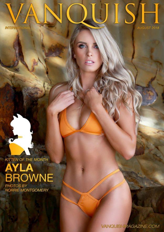 Vanquish Magazine – August 2018 – Ayla Browne