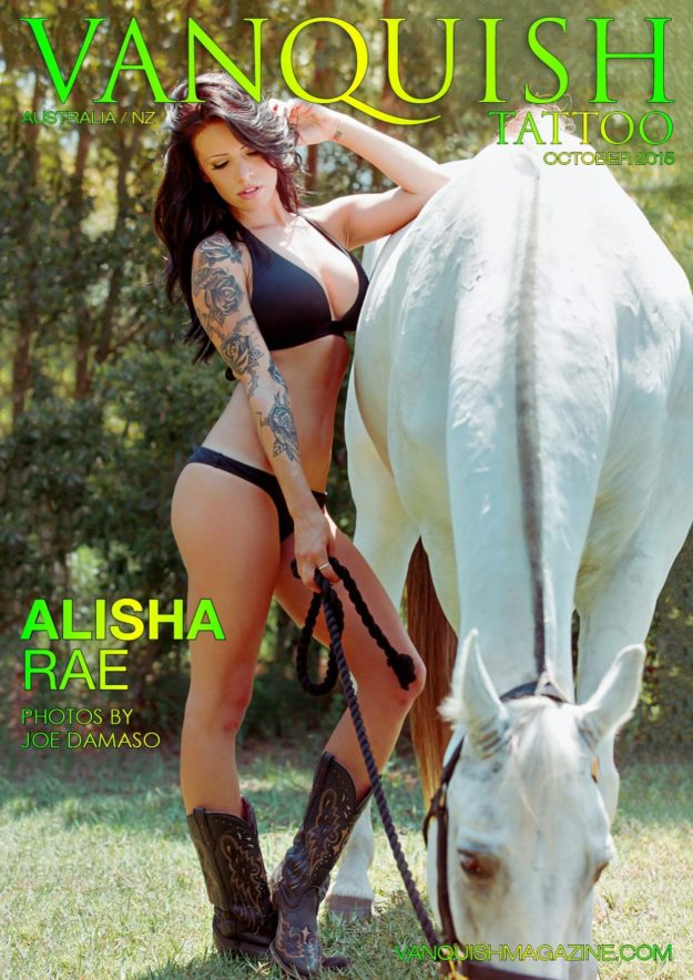 Vanquish Tattoo Magazine – October 2015 – Alisha Rae