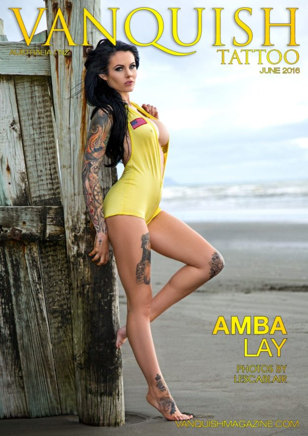 Vanquish Tattoo Magazine – June 2016 – Amba Lay