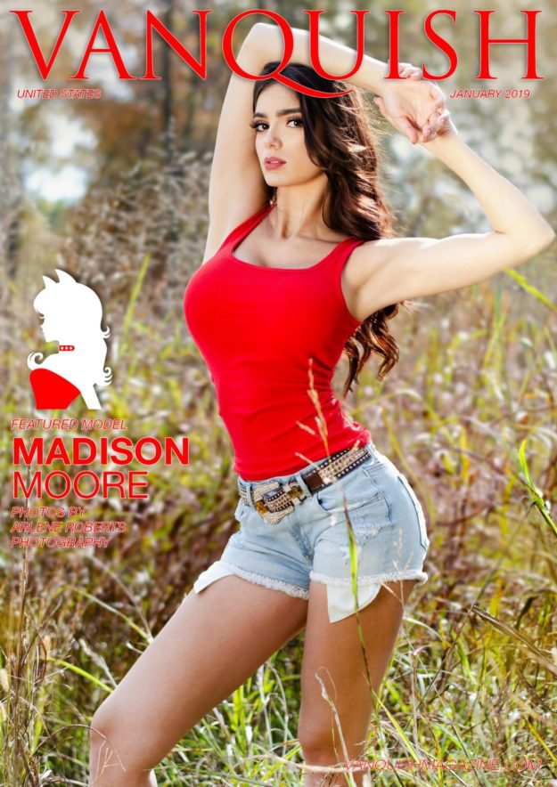 Vanquish Magazine – January 2019 – Madison Moore