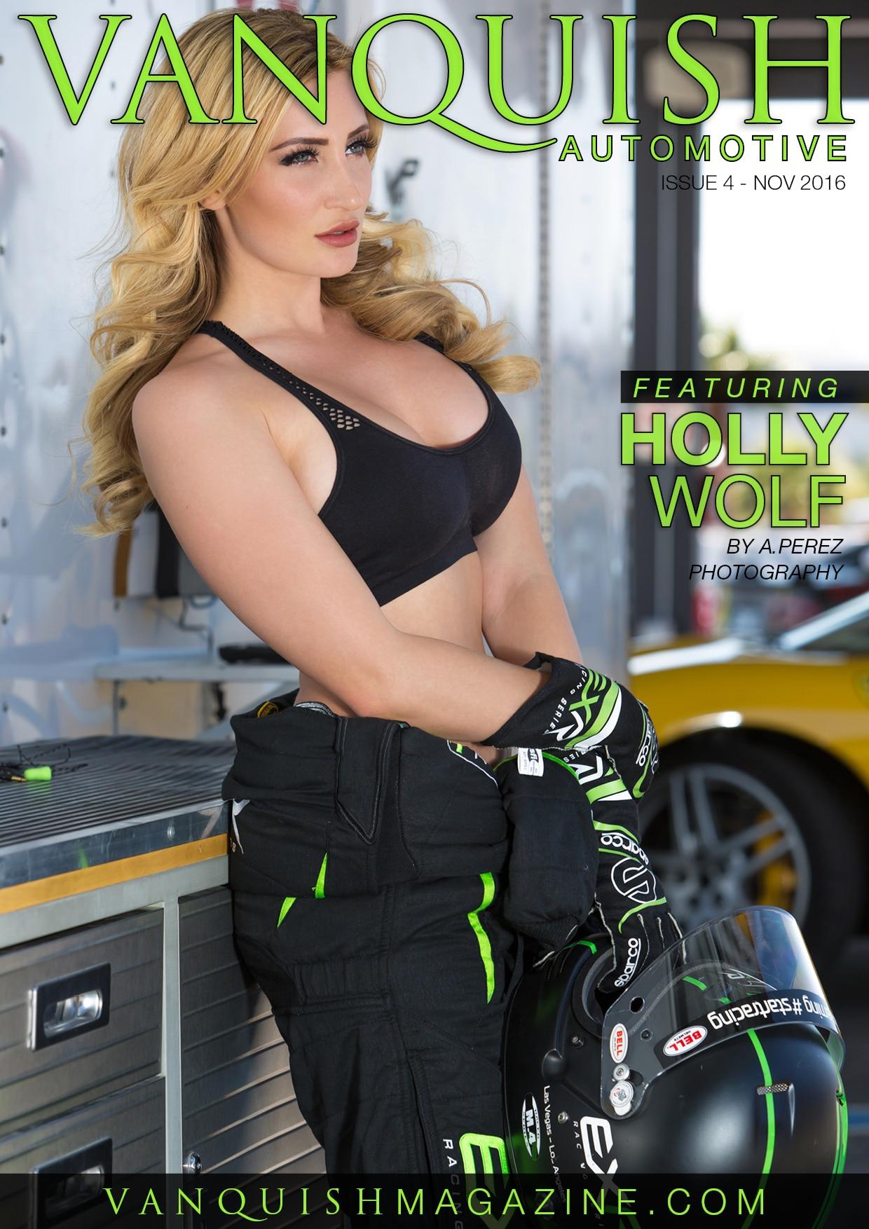 Vanquish Automotive – November 2016 – Holly Wolf