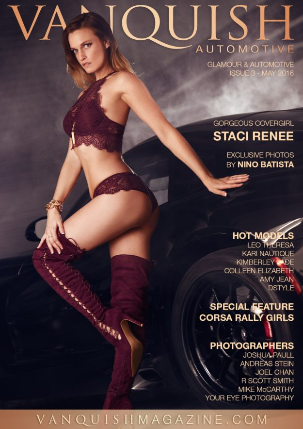 Vanquish Automotive Magazine – May 2016 – Staci Renee