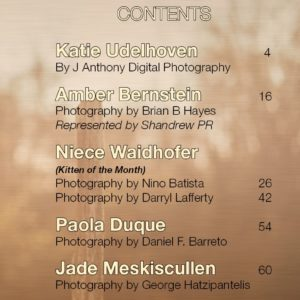 Vanquish Magazine – April 2017 – Niece Waidhofer