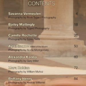 Vanquish Magazine – August 2018 – Alexandra Karina