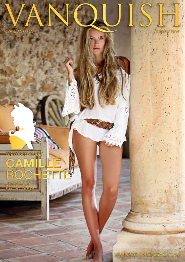 Vanquish Magazine – August 2018 – Camille Rochette