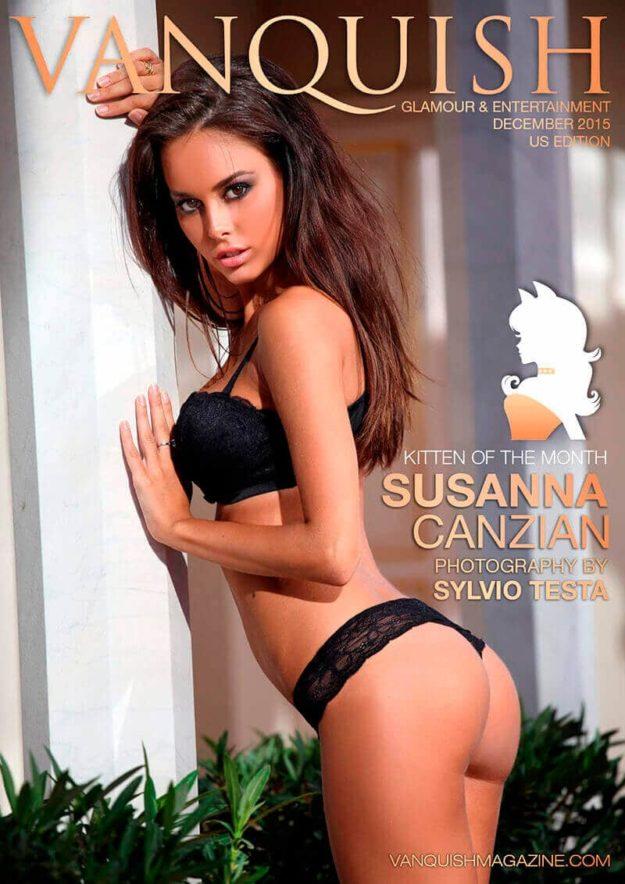 Vanquish Magazine – Christmas 2015 – Susanna Canzian