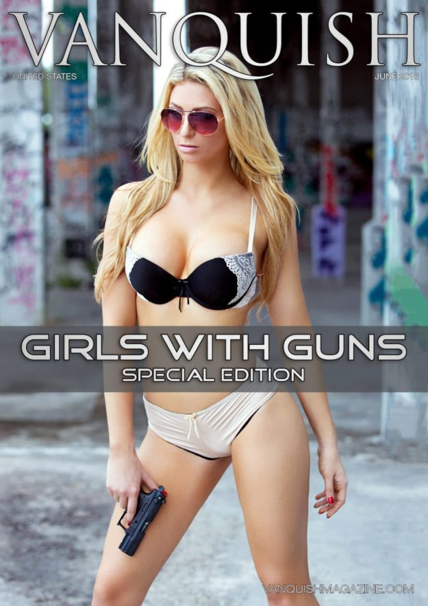 Vanquish Magazine – Girls with Guns – Holly Puska