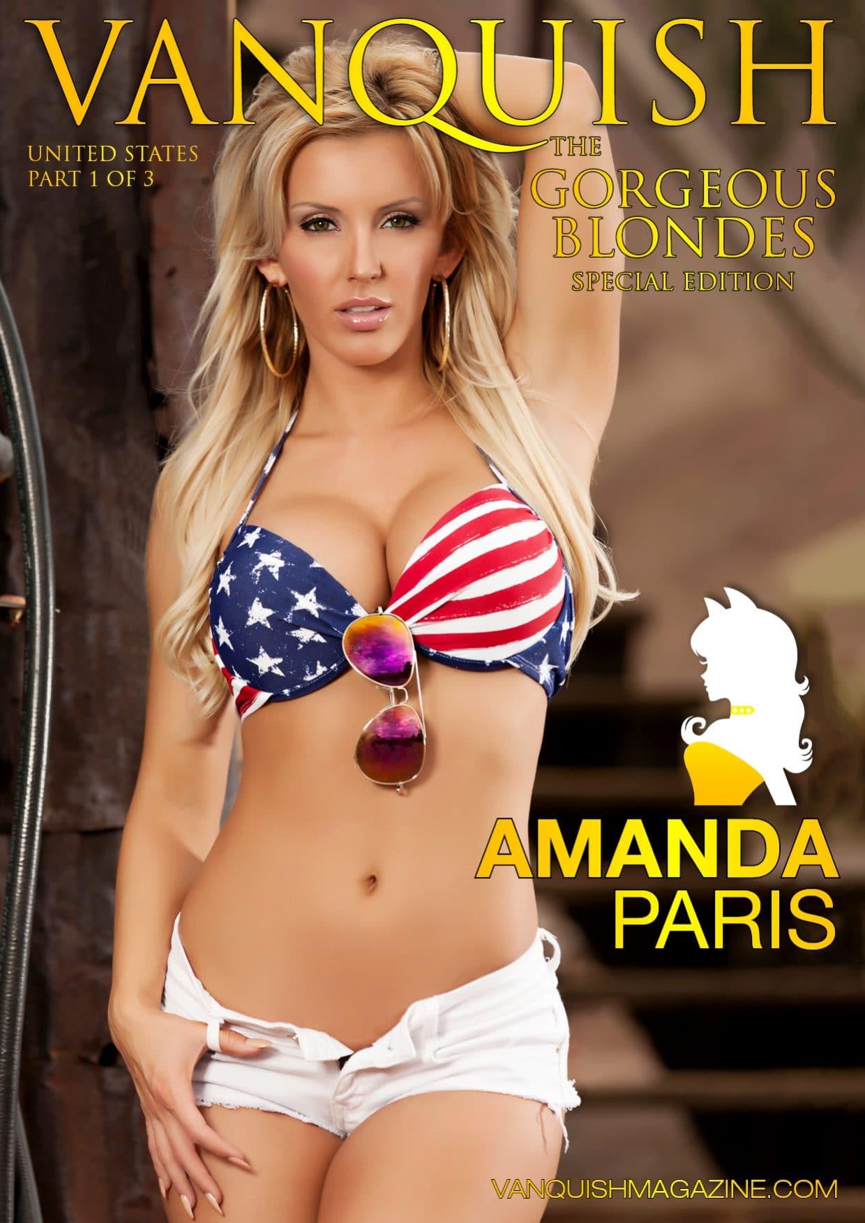 Vanquish Magazine – Gorgeous Blondes – Amanda Paris