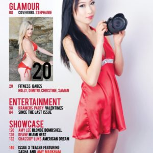 Vanquish Magazine – July 2013 – Stephanie