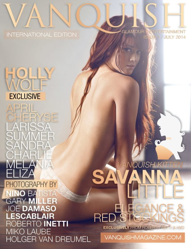 Vanquish Magazine – July 2014 – Savanna Little