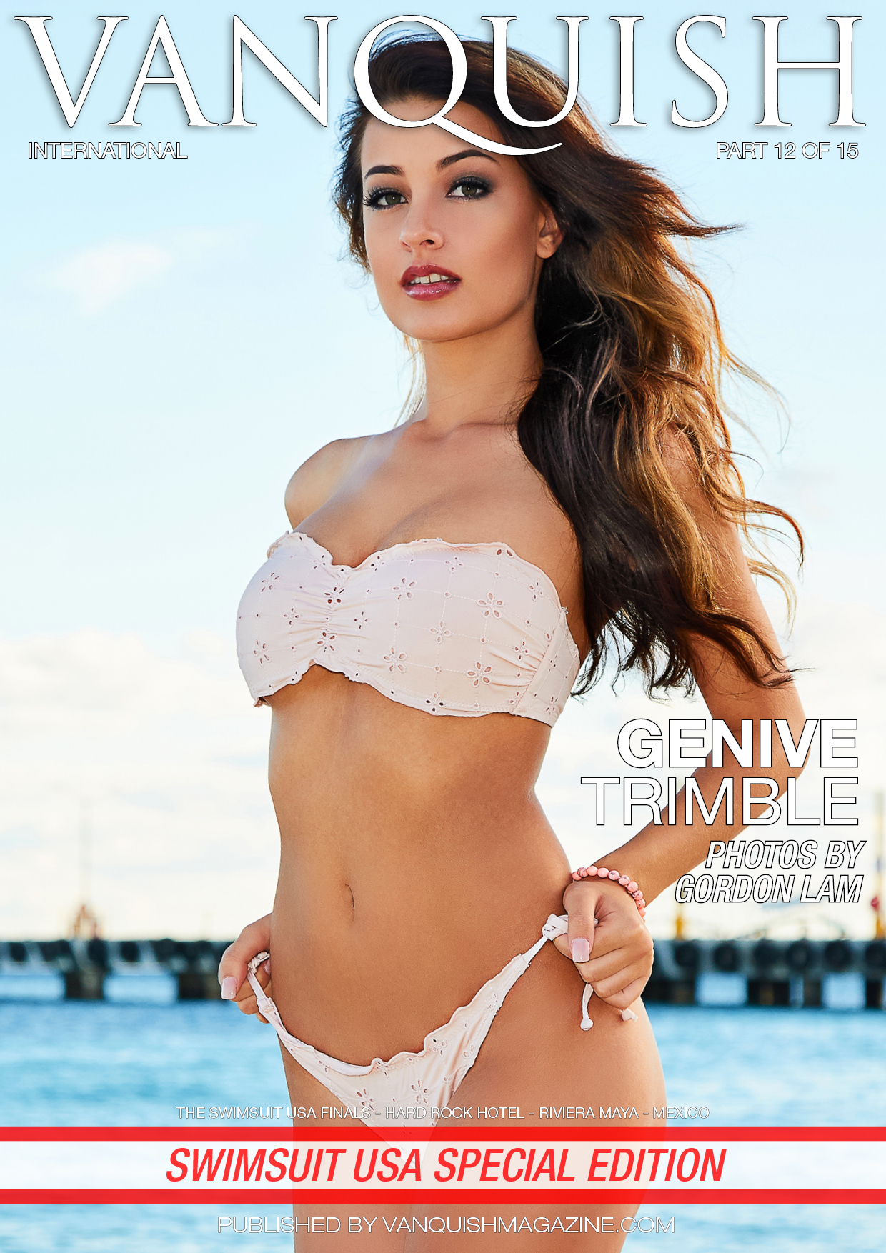 Vanquish Magazine – Swimsuit Usa – Part 12 – Genive Trimble