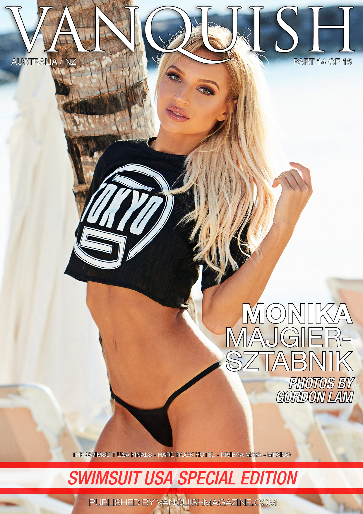Vanquish Magazine – Swimsuit Usa – Part 14 – Monika Majgier-sztabnik