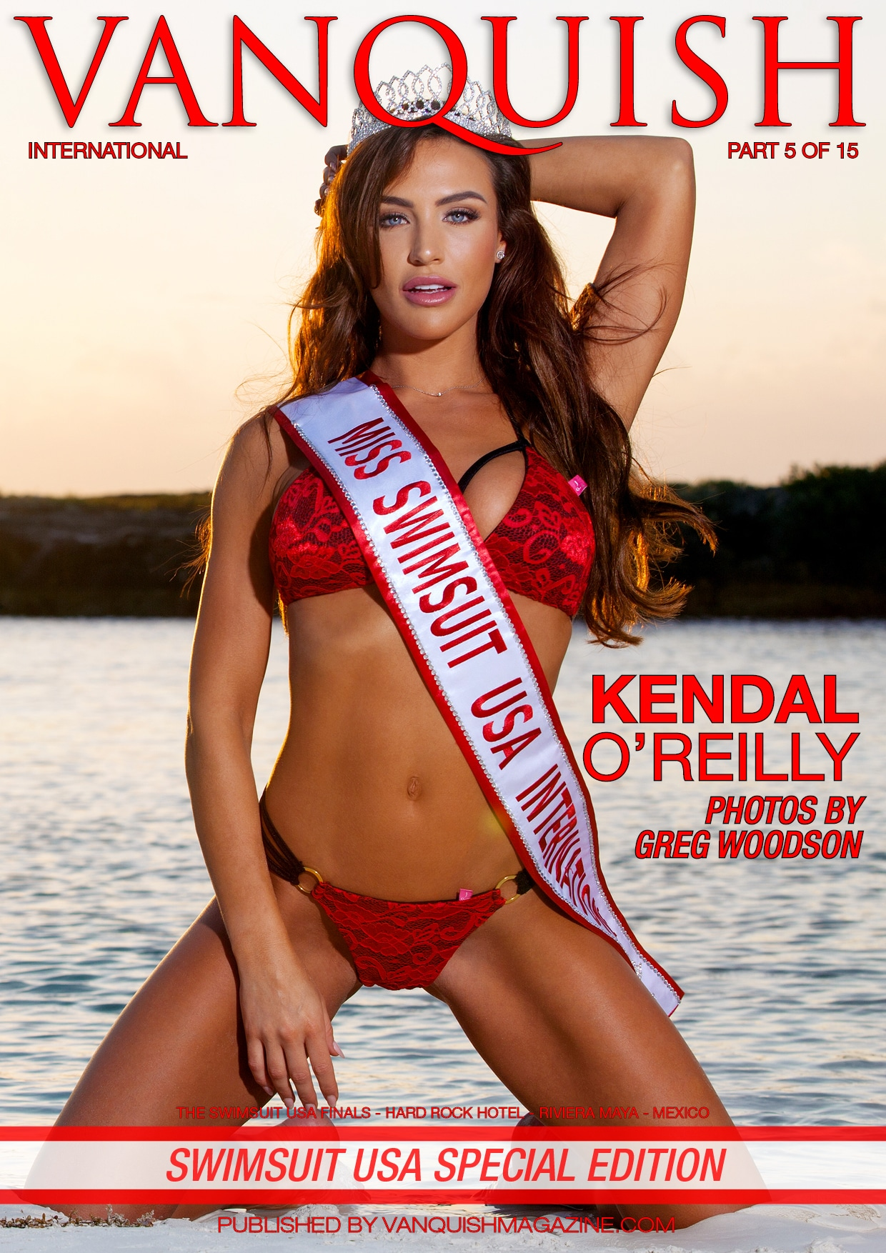 Vanquish Magazine – Swimsuit Usa – Part 5 – Kendal O'reilly