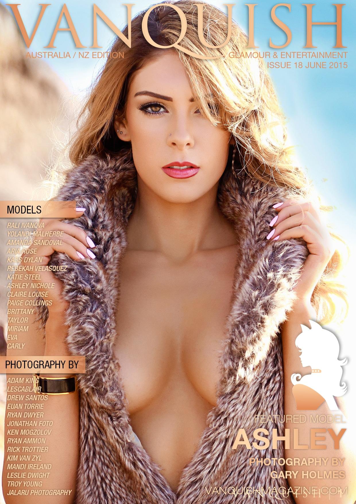 Vanquish Magazine Anz – June 2015 – Ashley