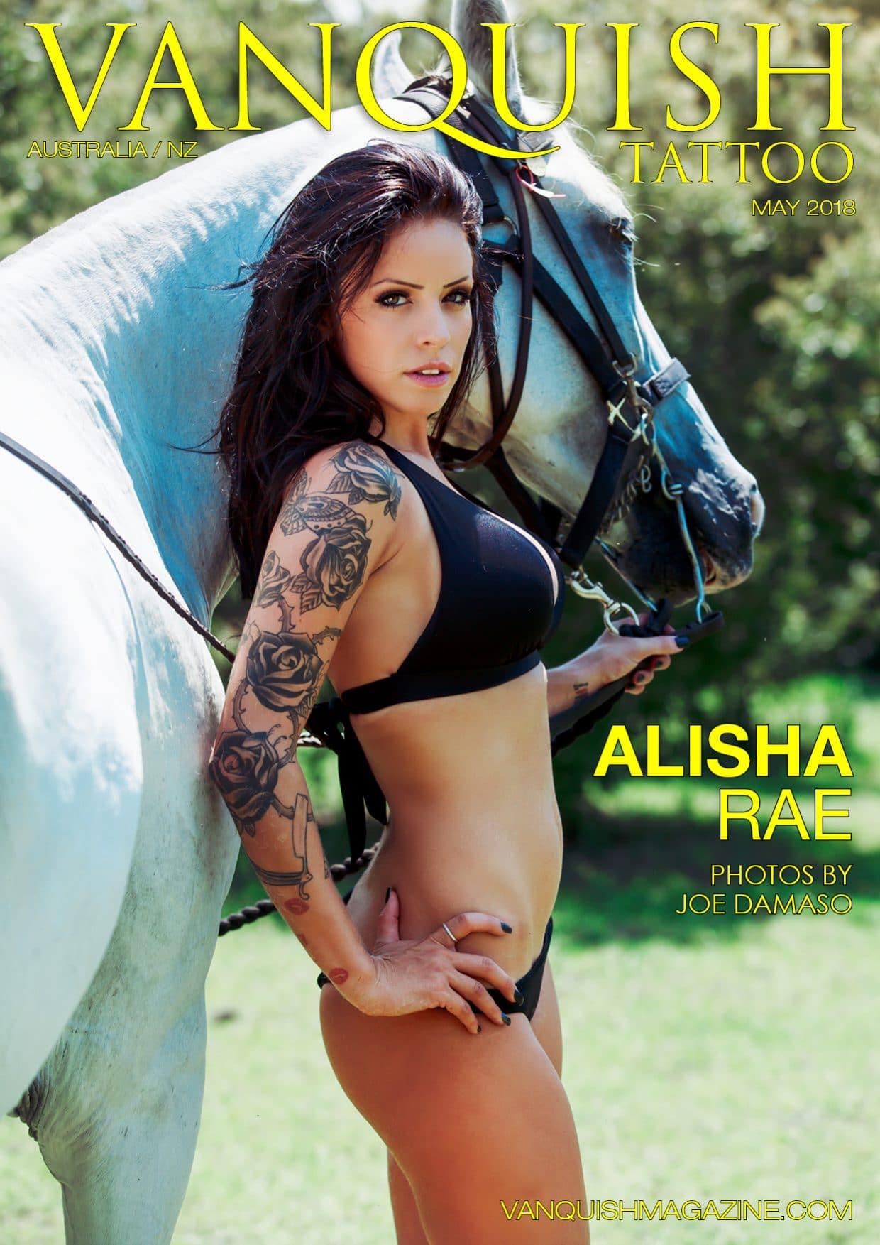 Vanquish Tattoo Magazine – May 2018 – Alisha Rae