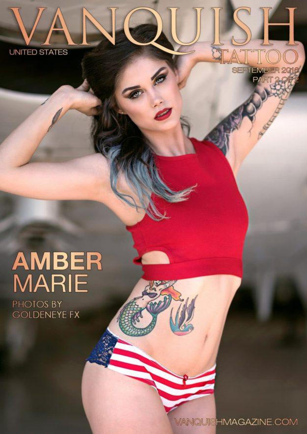 Vanquish Tattoo Magazine – September 2016 – Amber Marie