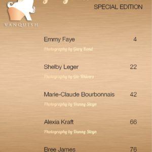 Vanquish Magazine – June 2019 – Marie-Claude Bourbonnais