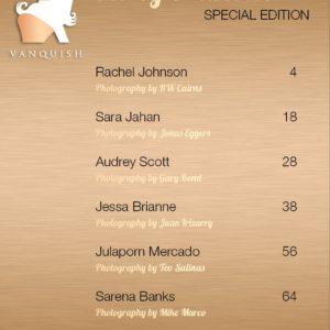 Vanquish Magazine – September 2019 – Rachel Johnson