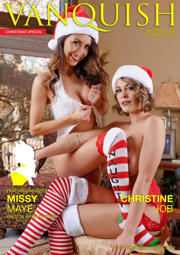 Vanquish Magazine – December 2019 – Missy Maye & Christine Job