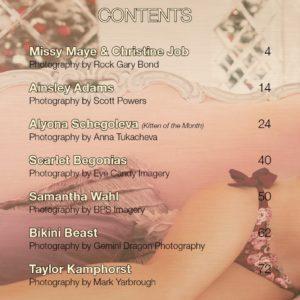 Vanquish Magazine – December 2019 – Missy Maye & Christine Job
