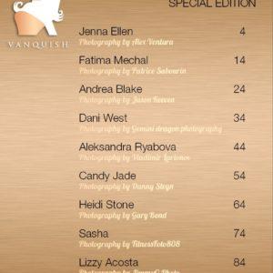 Vanquish Magazine – April 2020 – Busty Brunettes – Andrea Blake