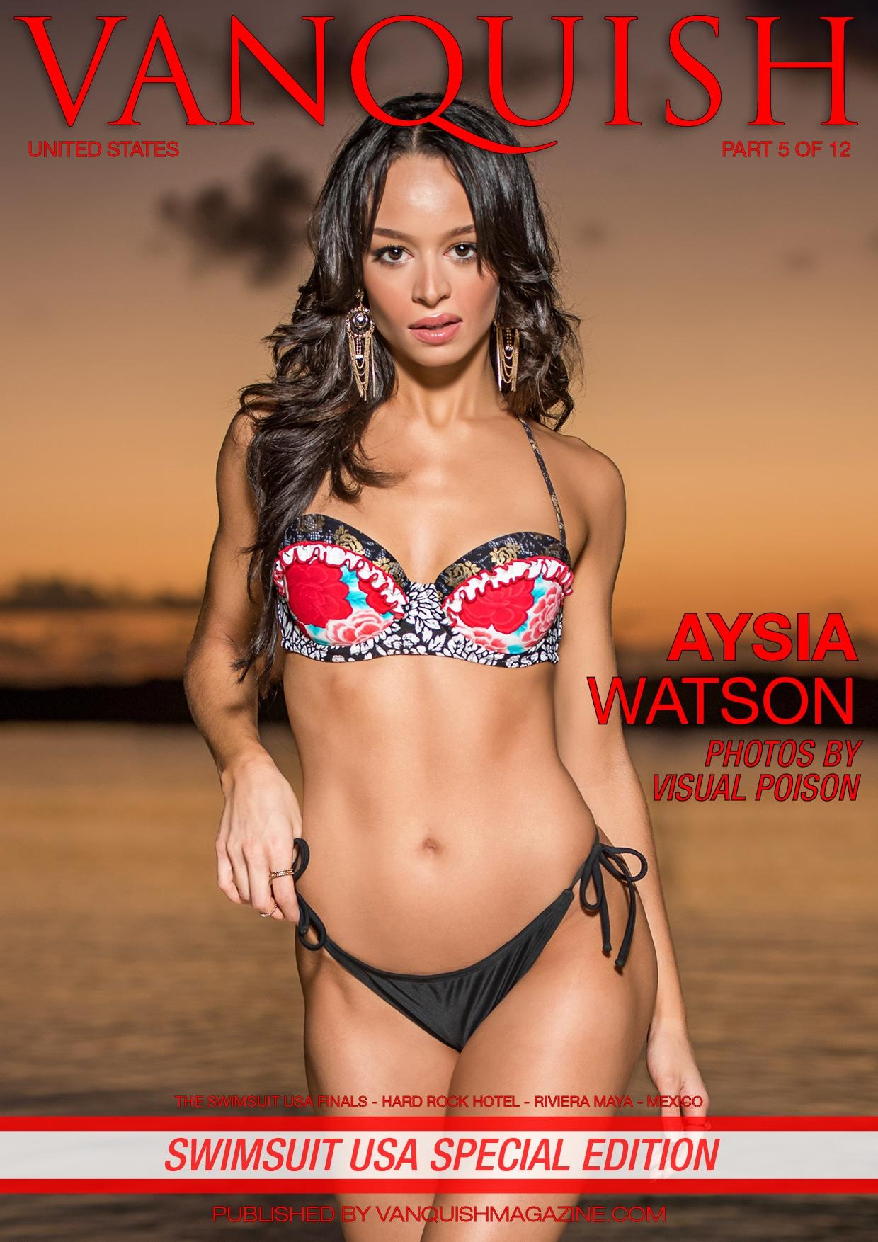 Vanquish Magazine – Swimsuit Usa 2018 – Part 5 – Aysia Watson