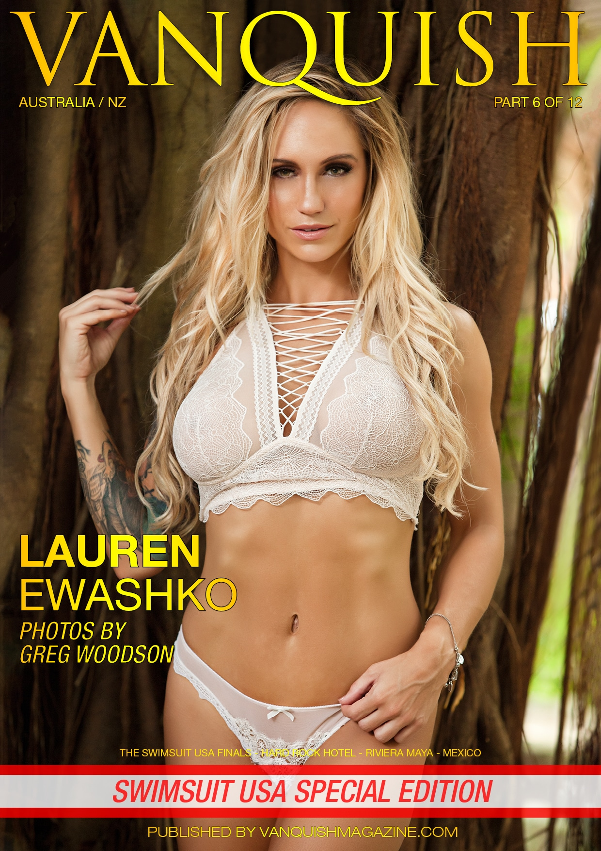 Vanquish Magazine – Swimsuit Usa 2018 – Part 6 – Lauren Ewashko
