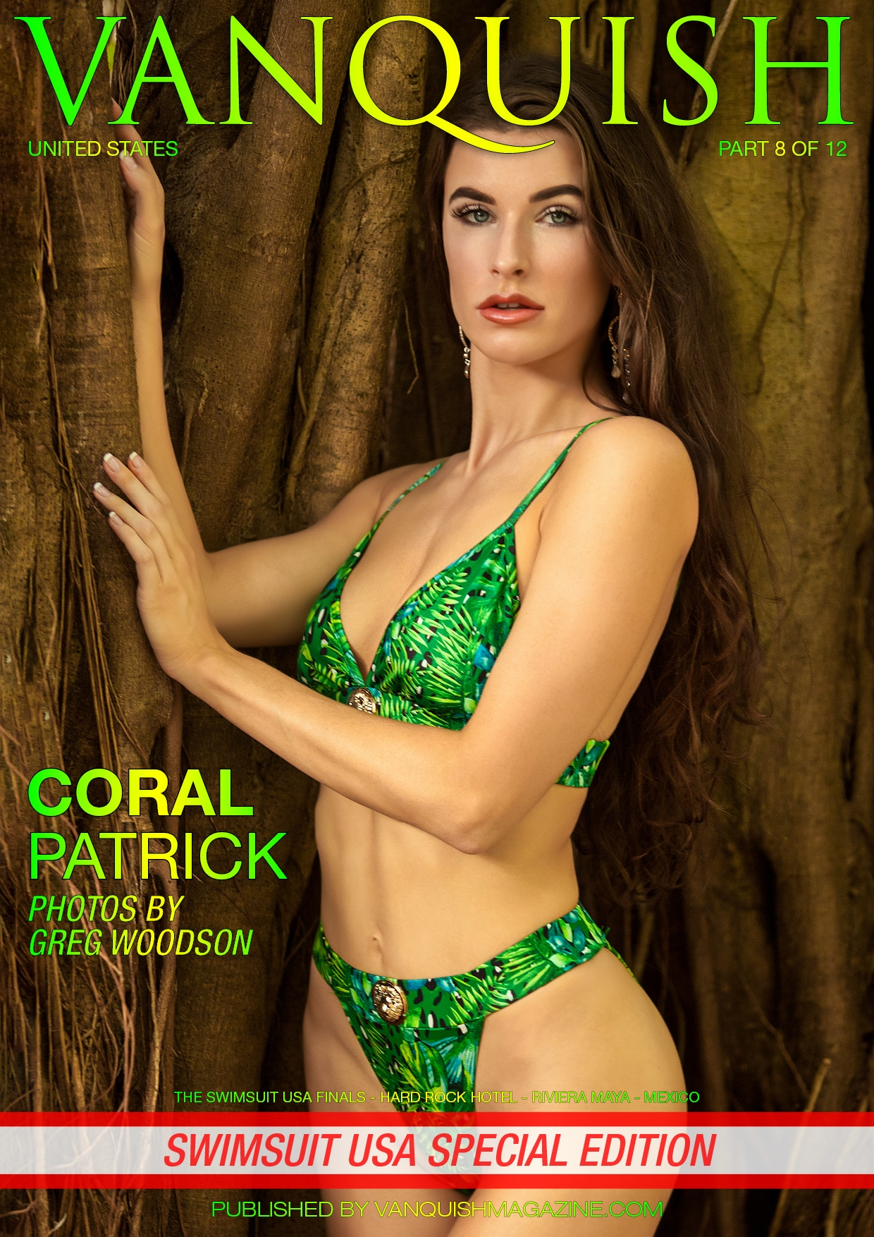 Vanquish Magazine – Swimsuit Usa 2018 – Part 8 – Coral Patrick