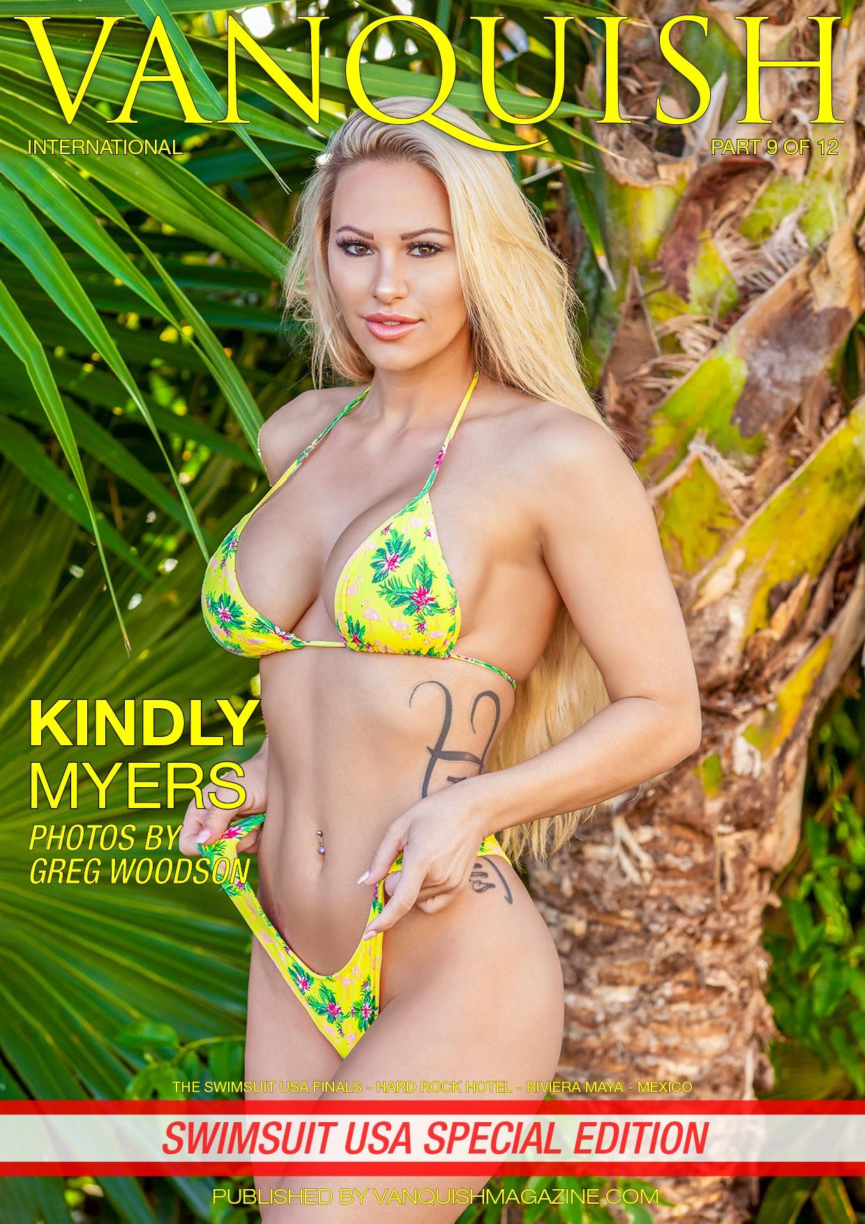Vanquish Magazine – Swimsuit Usa 2018 – Part 9 – Kindly Myers