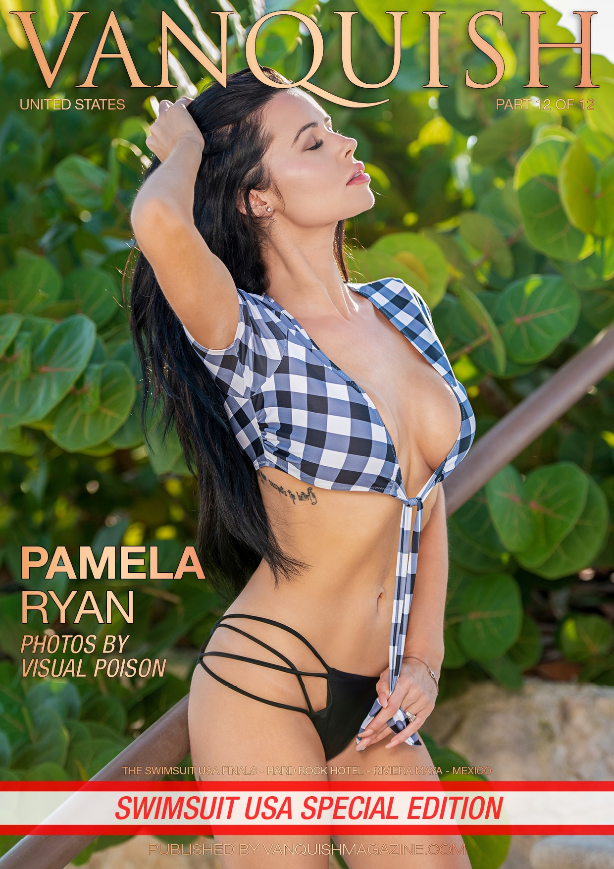 Vanquish Magazine – Swimsuit Usa 2018 – Part 12 – Pamela Ryan